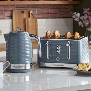 Russell Hobbs Inspire kettle and 4 slice toaster - £52.48 @ Argos