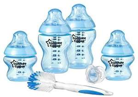 Tommee Tippee Closer To Nature Newborn Bottle Starter Set - £12.99 Prime / +£4.49 non Prime @ Amazon