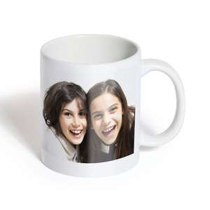 Personalised Photo Mugs Now £3.99 Delivered Using Code @ Photobox