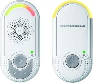 Motorola MBP8 Audio Baby Monitor with Wall Plug Baby and Parent Unit £20 @ Amazon