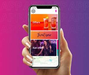 Free cocktail, pint beer or soft at Revolution bars by downloading app (burger in Scotland!)