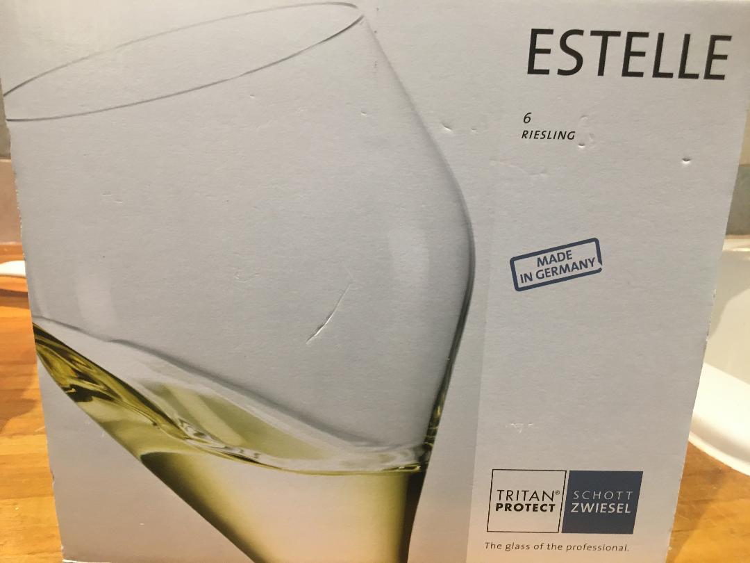 Schott Zwiesel Estelle Riesling crystal glasses set of 6 £5 @Tesco in-store (Wembley)