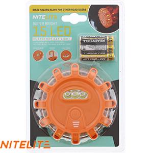 Nitelite Super Bright 15 LED Emergency Car Light £3.99 Home Bargains