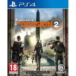 Tom Clancy's The Division 2 PS4 £13.99 @ 365games.co.uk