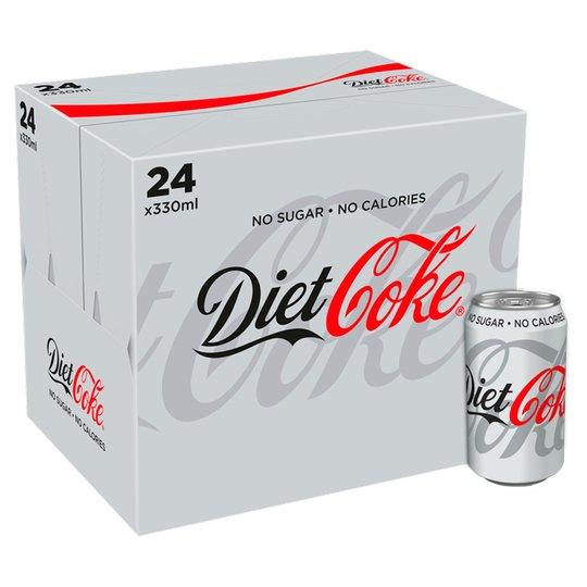 Diet coke 24 pack 330ml £6.50 @ Tesco