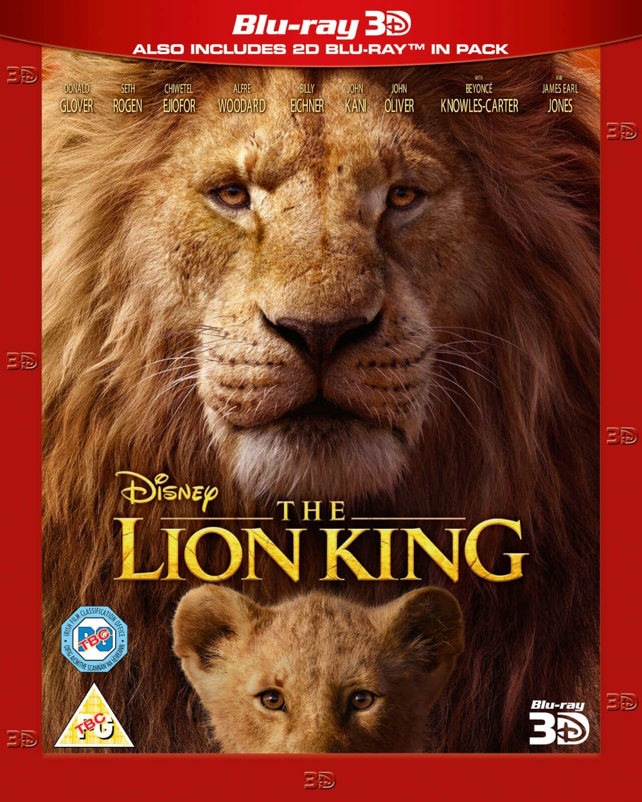 The Lion King (2019) - 3D Blu-ray £11.99 @ Amazon (+£2.99 Non-prime)