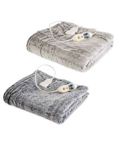 Heated Throw - £34.99 Instore - Aldi (Milngavie)