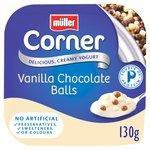 Muller Corner Vanilla Chocoball Yogurt 130g buy 8 for £2 @ Morrisons