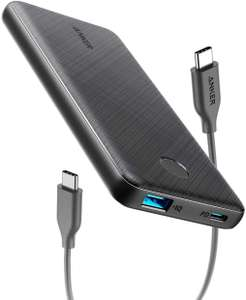 Anker PowerCore Slim 10000 PD, 10000mAh Portable Charger USB-C Power Delivery (18W) Power Bank £24.99 @ AnkerDirect and Fulfilled by Amazon