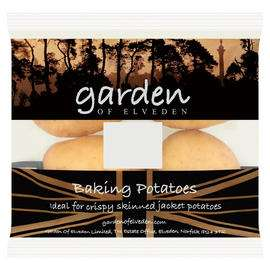 Iceland - 2 Pack of 4 Baking Potatoes £0.50