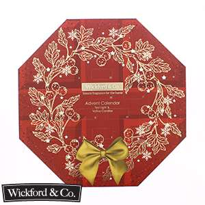 Wickford & co Candle Advent Calendar - £3.99 instore / online @ Home Bargains