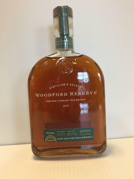 Woodford Reserve Rye Whiskey £25 instore @ Asda