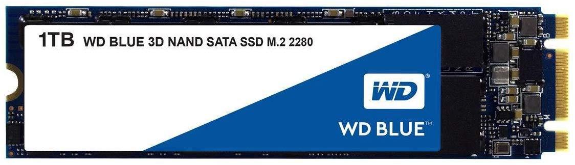 WD Blue 3D NAND Internal SSD M.2 SATA - 1 TB £99.59 @ Amazon