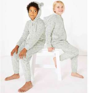 M&S 2 for £25 Onesies Kids' Pyjamas & Dressing Gowns - free Collect from store
