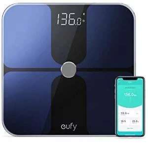 eufy Smart Scale with Bluetooth, Body Fat Scale, Wireless Digital Bathroom Scale £31.99 Sold by AnkerDirect and Fulfilled by Amazon.