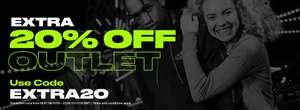 EXTRA 20% off at Sports Direct outlet shop only
