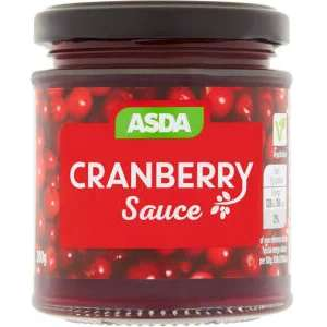 Asda Cranberry Sauce 200g reduced to 15p Asda Bordesley Green