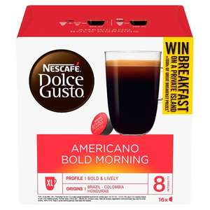 Various Dolce Gusto Coffee Pods £3.00 a box @ Morrisons