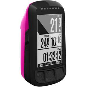 Wahoo Elemnt Bolt Cycling Computer (Pink) £139 w/new customer code @ Chain Reaction Cycles