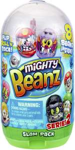 Mighty Beanz 66626 Slam Pack (8 Beanz per pack) - £5 @ Amazon (+£4.49 Non-prime)