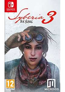 Syberia 3 - Nintendo Switch - Base.com £18.85