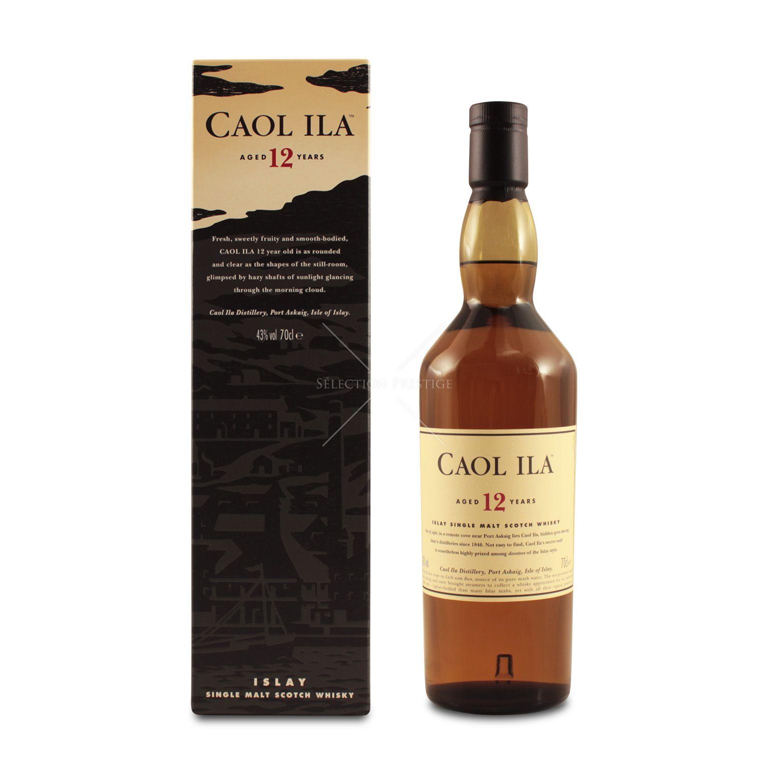 Caol Ila 12 Years Old Islay Single Malt Scotch Whisky 70cl £33.49 @ Amazon