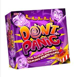Don't Panic Family Board Game from Ideal £8.99 @ Amazon (+£4.49 Non-prime)