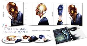 Hollow Man / Hollow Man 2 - Collector's Edition Digipack Blu-Ray Boxset £14.99 @ Amazon (+£2.99 Non-prime)