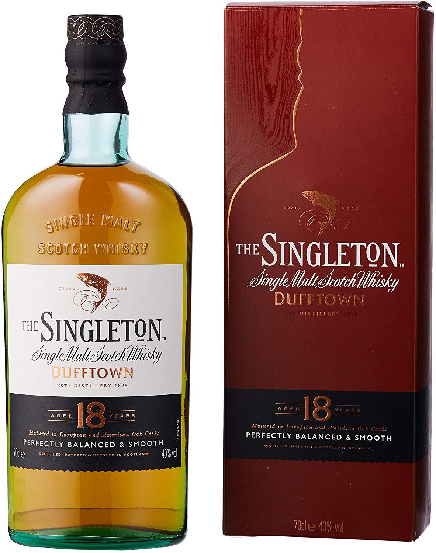 Singleton of Dufftown 18 Year Old Single Malt Scotch Whisky 70 cl £50.49 @ Amazon