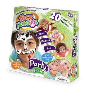 Face Paintoos Party Pack £8 @ Argos (Free C&C)