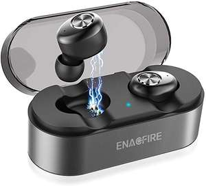 ENACFIRE E18 Bluetooth 5.0 Wireless Earphones Earbuds with Mic Grey £23.99 Sold by Mingchuyang and Fulfilled by Amazon