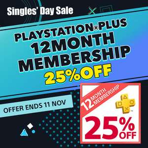 PlayStation Plus 12 Month Membership £24.90 from PSN Store Indonesia