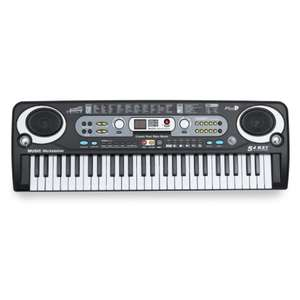 Academy of Music 54-Key Keyboard - £12.74 Using 15% Discount Code & Free Click & Collect @ Robert Dyas