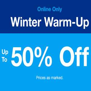 Gap - online only up to 50% off