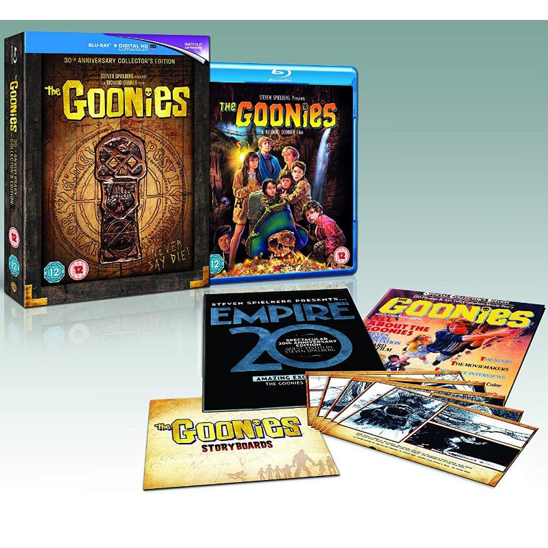 The Goonies - 30th Anniversary collectors Ed Blu Ray - £7.99 @ amazon (+£2.99 non Prime)