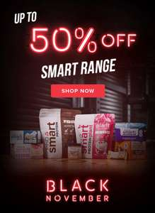 Up to 50% Off PHD Protein Smart Range