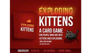 Exploding Kittens Original Edition Game £13.40 @ Argos. Free Click & Collect