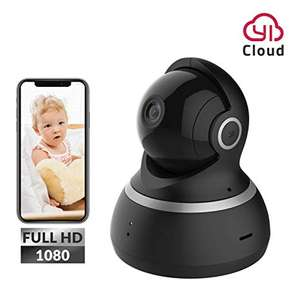 YI Dome Camera 1080p HD Pan/Tilt/Zoom Wireless IP £27.19 - Sold by Seeverything UK and Fulfilled by Amazon
