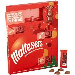 Maltesers Reindeer Chocolate Advent Calendar 108g £1 Amazon Prime Now (£20 spend)