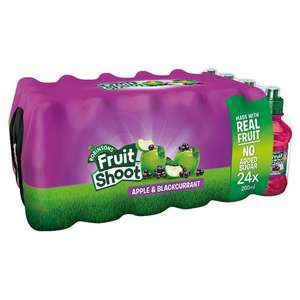 24 Pack Case of Robinsons Apple & Blackcurrant Fruit Shoot for £3.99 at Home Bargains