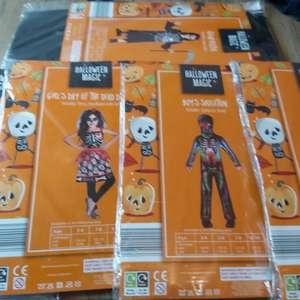Halloween fancy dress costumes only 49p at aldi