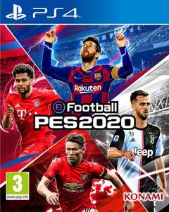 eFootball PES 2020 (PS4) £29.95 Delivered @ The Game Collection