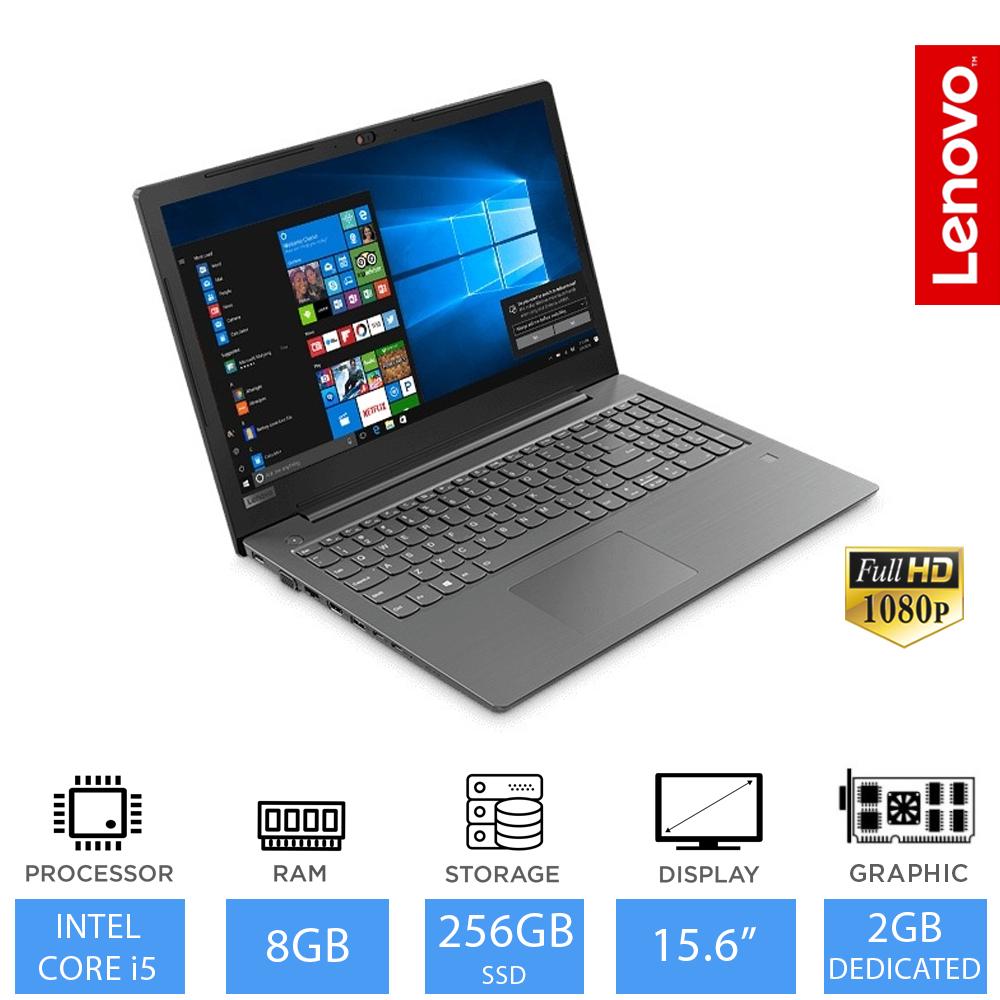 "Lenovo V330 15.6"" 8th Gen Intel Core i5 Laptop 8GB, 256GB SSD, DVD, 2GB Graphics £489.99 Laptop outlet"