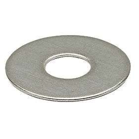 Easyfix Large Flat Washers M10 x 2.5mm 10 Pack, £0.49 at Screwfix (free collection)