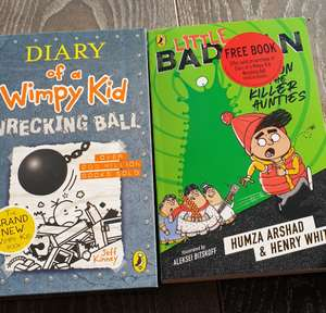 Diary of a Wimpy Kid Wrecking ball with free Little badman book £6 @ Sainsburys instore