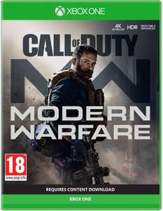 Call of Duty: Modern Warfare (Xbox One) £39.99 w/new customer code @ Amazon Prime Now