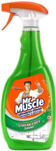 Mr muscle advanced window and glass cleaner 750ml £1.50 @ Amazon Prime Now (£20 spend)