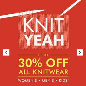 Matalan upto 30% off all knitwear instore and online for men, women and kids.