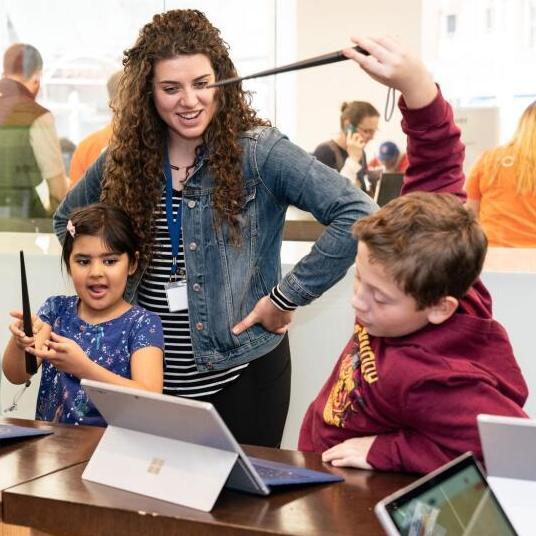 Harry Potter FREE Kano Coding Kit workshop ages 8+ at Microsoft Regent Street Store