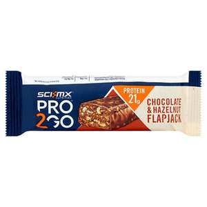 Sci Mx Chocolate & Hazelnut protein flapjack for just 38p in Asda Mothwell